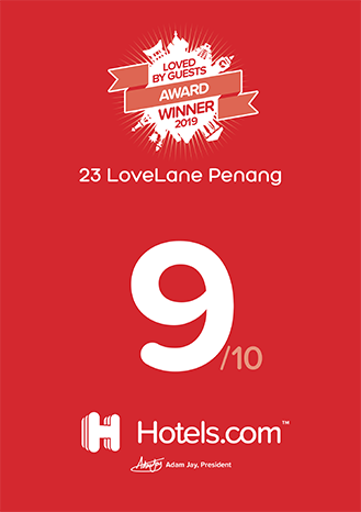 Hotel.com, Loved By Guests Award Winner 2019